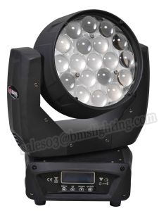 19*10W RGBW LED Wash Moving Head Light with Zoom pictures & photos