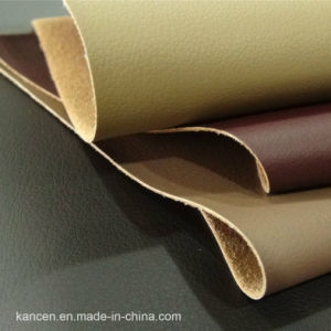 Sofa Leather with Good Touching Feeling (KC-W105)