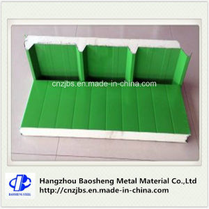 Custom Aluminum Polyurethane PU Foam Sandwich Panels pictures & photos