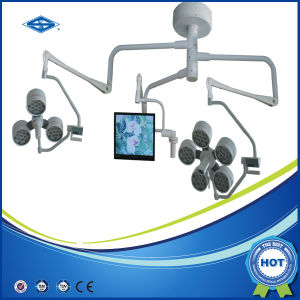 Double Dome Surgical Operating Light with Camera and Monitor pictures & photos