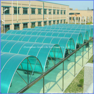 Clear Colored Polycarbonate for Car Parking Shelters pictures & photos