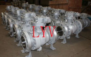 API High Quality Trunion Ball Valve