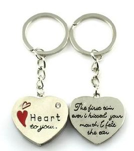 Heart Shape Name Keychains, Keychain Accessories (GZHY-KA-032) pictures & photos