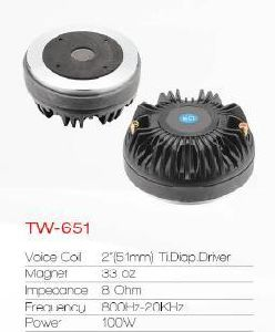High Qualty PRO Speaker Driver Tweeter (Tw-651) pictures & photos