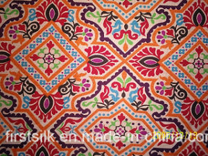 Silk Jersey Print Fabric pictures & photos