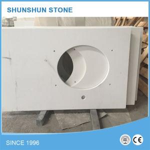 High Quality White Quartz Stone Countertop for Kitchen pictures & photos