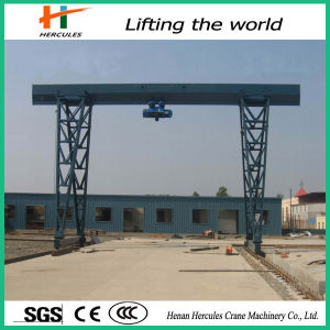 Single Girder Gantry Crane for Construction Project pictures & photos