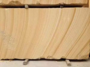 Popular 2016 Hot Sell Teak Wood Sandstone, Sandstone Slabs for Sale pictures & photos