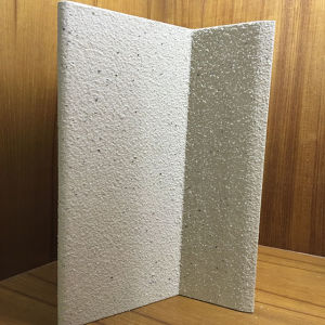 Marble Like Bend Edges Aluminum Honeycomb Panel for Wall Cladding pictures & photos