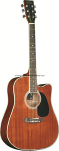 41′′ All Sapele Acoustic Guitar pictures & photos