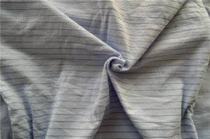 Cotton Single Jersey with Silver Coated Nylon Yarn