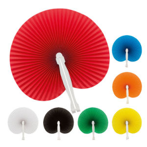 7 Color Mini Handheld Folding Chinese Paper Fan for Wedding Favours Vintage Style Oriental Folding Fans pictures & photos