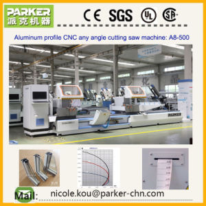 Aluminum Window Machine, Aluminum Profile Double Head Cutting Saw Machine pictures & photos