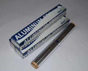 8011 Household Aluminum Foil Roll Food Packaging pictures & photos