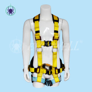 Full Body Harness with Waist Belt and EVA Block (EW0116H)