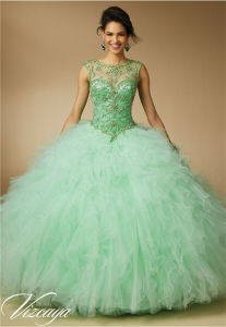 Quinceanera Prom Dress Heavy Beading Party Fashion Dress pictures & photos