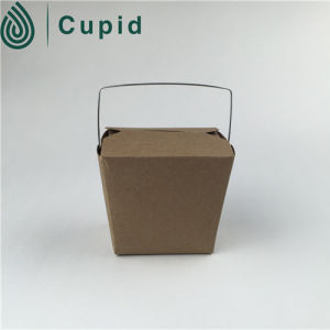 China Wholesale Market Food Grade Disposable Green Pasta Box pictures & photos