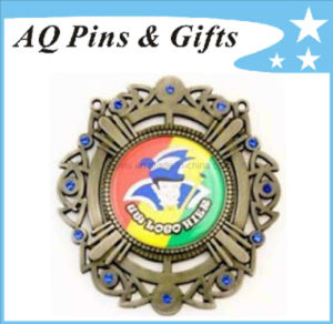 Zinc Alloy Jewellery Medal with Printing pictures & photos