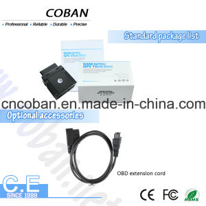 Mini Plug and Play Car Sos OBD II GPS Tracker Request for OBD Data by SMS pictures & photos