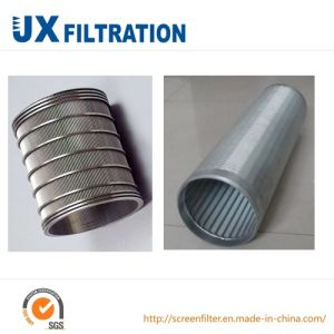 Ss Wedge Wire Screen for Drilling Construction pictures & photos