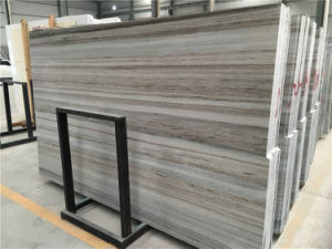 Hot Building Material Crystal Wood Grain Marble Slab pictures & photos