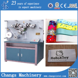 SGS Series Customised Satin Ribbon Textile Printing Machine Equipment for Sale pictures & photos