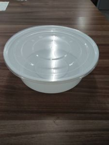 Wholesale High Insurance Heat Resistant Round PP Microwave Safe Food Container with Lid pictures & photos