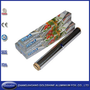 Food Use and Roll Type Aluminum Kitchen Foil Rolls pictures & photos