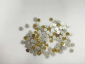 6mm 8mm Round Flat Back Garment Beads for Crystal Embroidery pictures & photos
