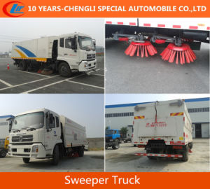 Dongfeng Sweeper Trucks, 160HP Sweeper Trucks, 4X2sweeper Trucks pictures & photos