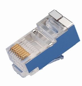 RJ45 CAT6 FTP (Shield) Connector pictures & photos