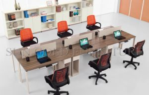 Modern Office Table Design Photos Small Panel Linear Workstation (SZ-WS616) pictures & photos