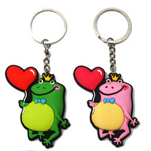 Cheap Custom Promotional Eco-Friendly Rubber Keychains pictures & photos