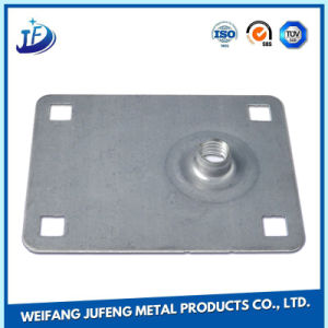 Customized Steel Sheet Metal Stamping Parts Spring Loaded Door Hinge pictures & photos