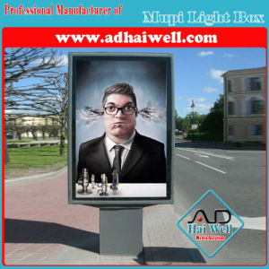 Aluminum Profile Frame City Scrolling Mupi LED Light Box Display pictures & photos