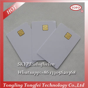 PVC Magnetic Stripe with Chip Card pictures & photos