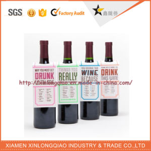 Customized Design Printed Wine Logo Wine Bottle Sticker, Label Printing pictures & photos