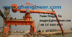 Grain Coal Environmental Screw Type Ship Unloader pictures & photos