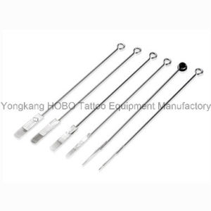 Professional 316L Medical Stainless Steel Tattoo Needle Pre-Sterilized with E. O. pictures & photos