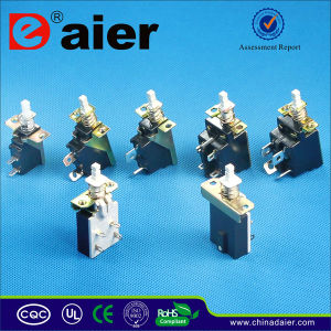12V Latching Push Button Switch, Pushbutton Switch (KZJ2*4-A) pictures & photos