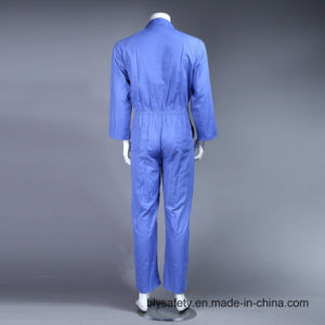 Safety Cheap High Quality Dubai 100% Polyester Work Clothes (BLUE) pictures & photos