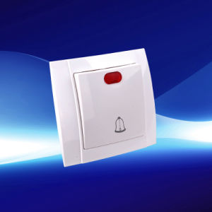 1 Gang Wall Bell Switch with Light (YW2509-D)