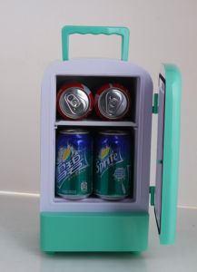 Portable Mini Fridge 4liter DC12V, AC100-240V with Cooling and Warming for Car, Office or Home Use pictures & photos