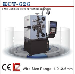 Kct-626 CNC Spring Coiler Machine pictures & photos