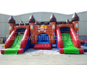 Factory Direct Inflatable Double Slide, , Inflatable Jumping Bouncer pictures & photos