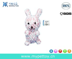 Bunny Braided Rope Dog Toy pictures & photos