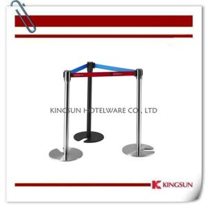 Bp220 Stackable Retractable Belt Stanchions Comes with Cast Iron Flat Base pictures & photos