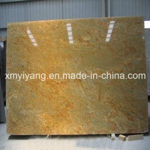 Kashmir Gold Granite Yellow Granite Slab (YQA-GS1011) pictures & photos