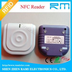 NFC 13.56MHz RFID Reader Desktop USB RFID Reader ISO18092 pictures & photos