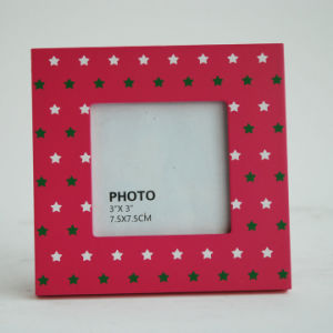New En71 ASTM Wooden Photo Frame in MDF for Christmas pictures & photos
